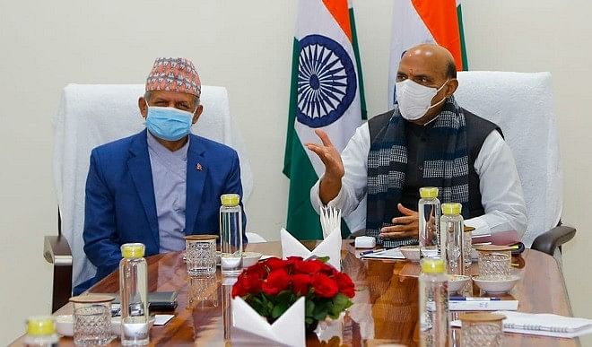 Rajnath Singh said, India-Nepal relations have immense potential.
