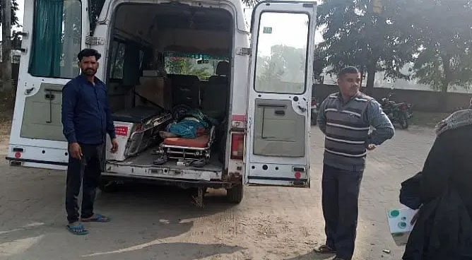 mathura-woman-killed-by-motorcycle-death