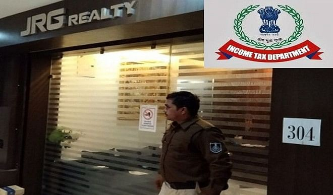 Income tax raids in Indore, transactions worth more than 50 crores disclosed