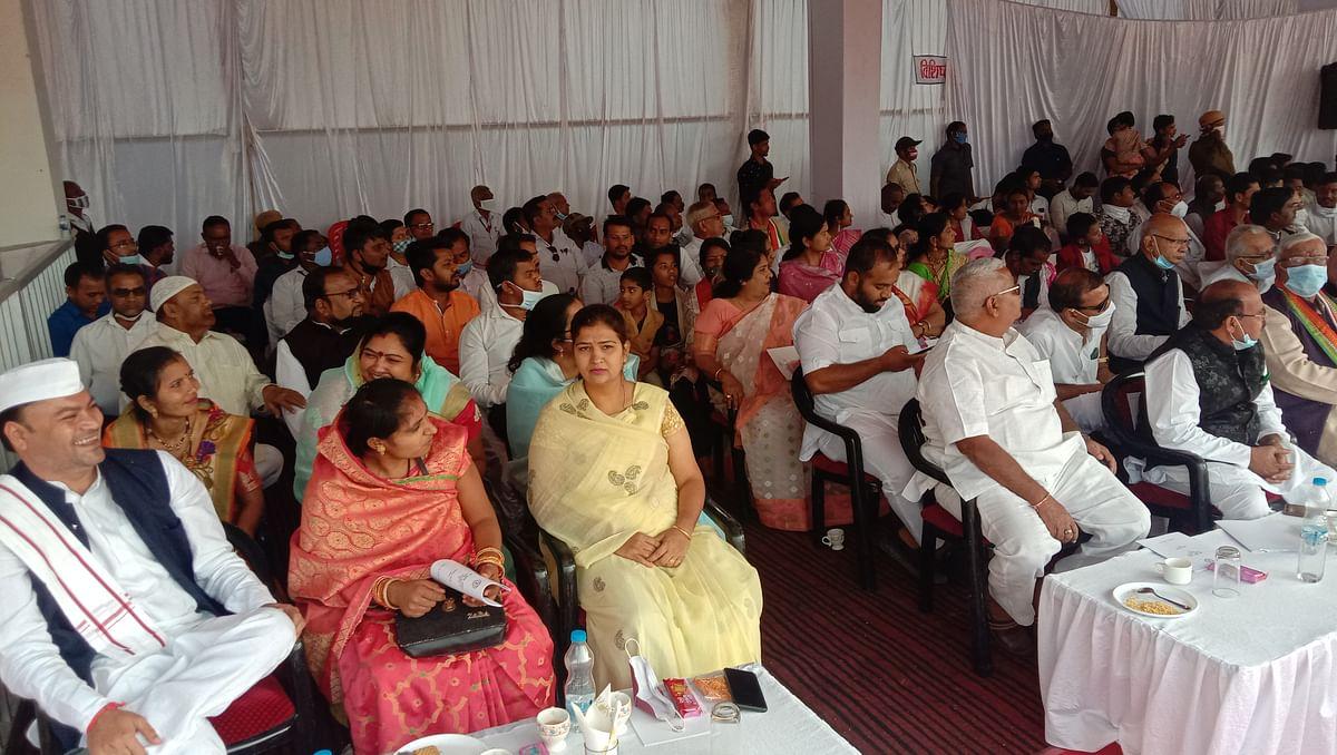 धमतरी - गरिमामय तरीके से मनाया गया 72 वां गणतंत्र दिवस