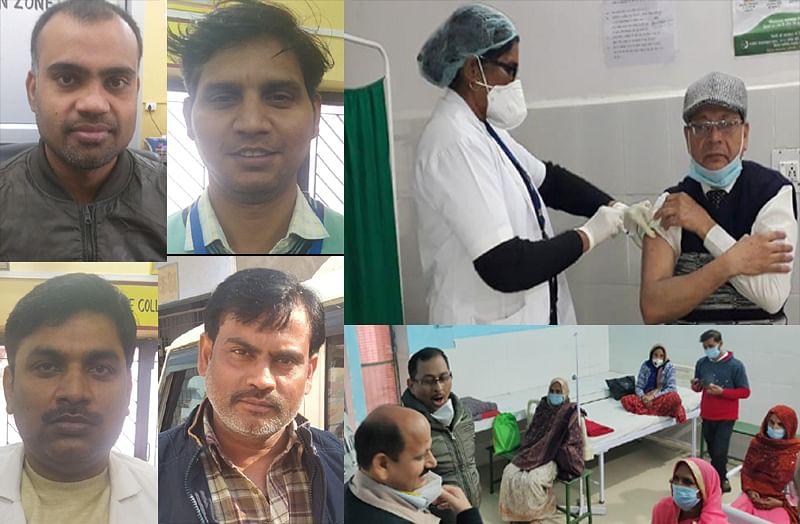 भारतीय वैज्ञानिकों पर गर्व, टीका लगवाकर बोले स्वास्थ्य कर्मी