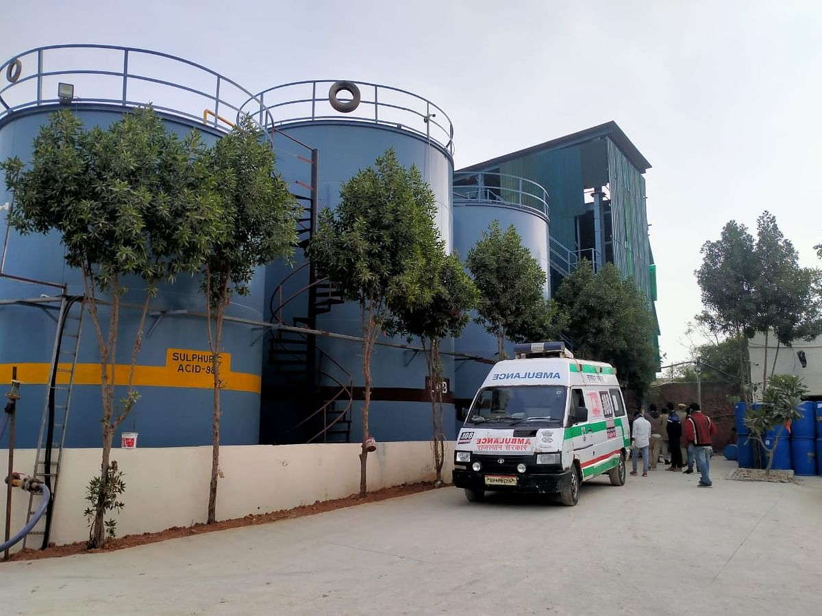 Acid tank explodes in a factory in Udaipur, one killed