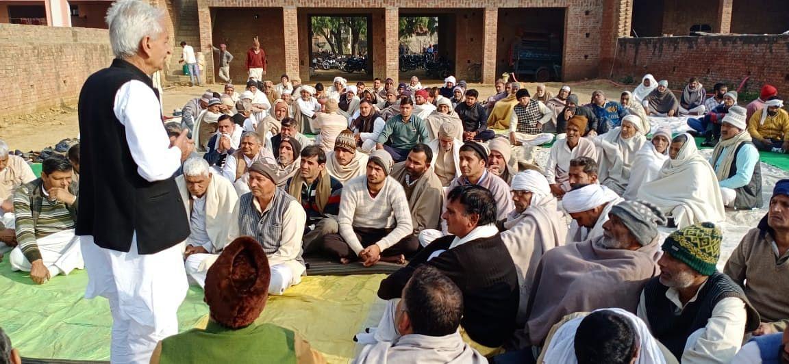 25 जनवरी को दिल्ली रवाना होगा ट्रैक्टरों का काफिला