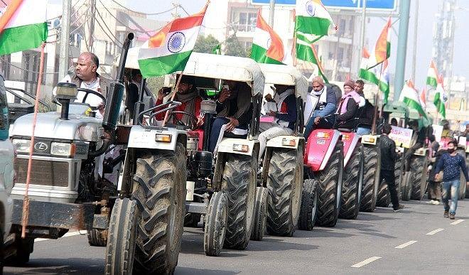 राजपथ की ही तरह किसानों की ट्रैक्टर परेड में दिखेंगी झांकियां, तैयारियां जोरों पर