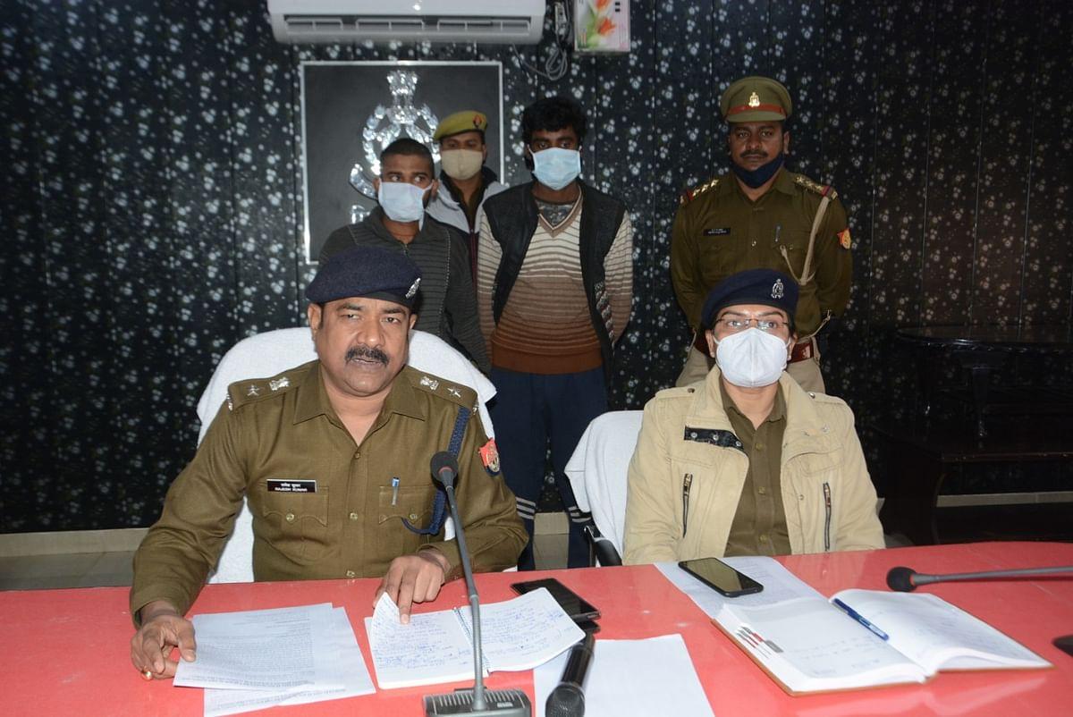 सारजन हत्याकांण्ड़ का 24 घण्टे में खुलासा, दो हत्यारोपित गिरफ्तार