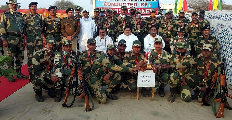कमाण्डो कम्पीटिशन में बीएसएफ बीकानेर ने लहराया परचम