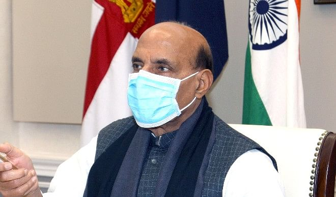 Defense Minister Rajnath Singh's statement- If a 'superpower' hurts self-respect, then he will give a befitting reply.