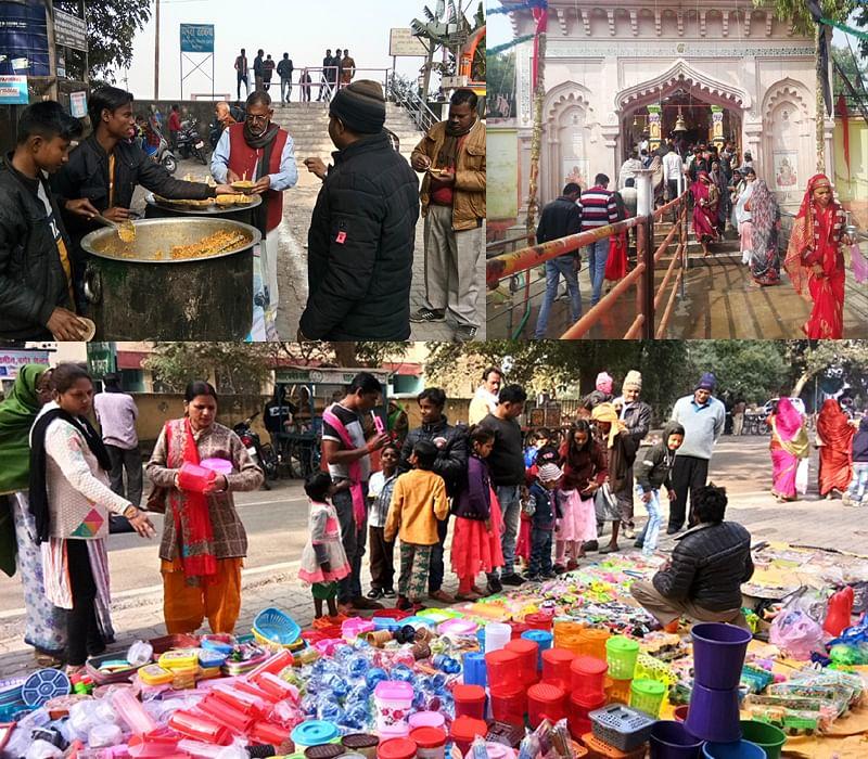 हमीरपुर: नदी में स्नान कर हजारों श्रद्धालुओं ने मां महेश्वरी देवी में टेका माथा