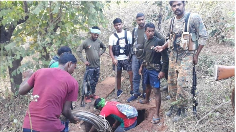 Dantewada: 3 IEDs dumped by Naxalites, including electric wires recovered