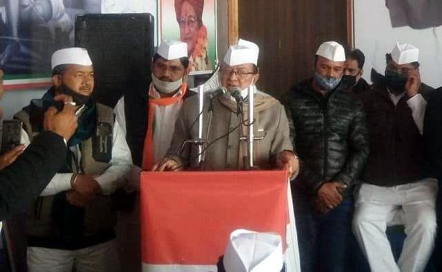 Kisan Sangharsh Yatra reached Bikaner