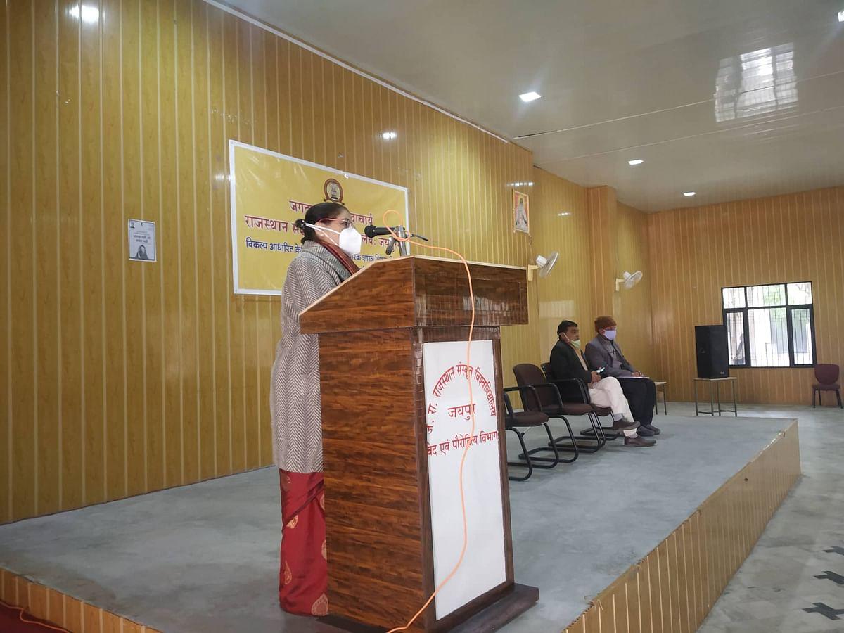 संस्कृत शिक्षा को मुख्य धारा से जोड़ना जरूरी : अनुला मौर्य