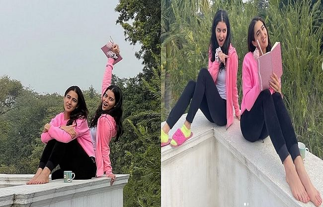 Sara Ali Khan shares beautiful pictures with Best Friend
