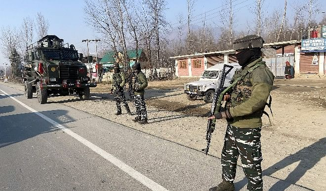 Alarm bells Still more than 270 terrorists active in Jammu and Kashmir