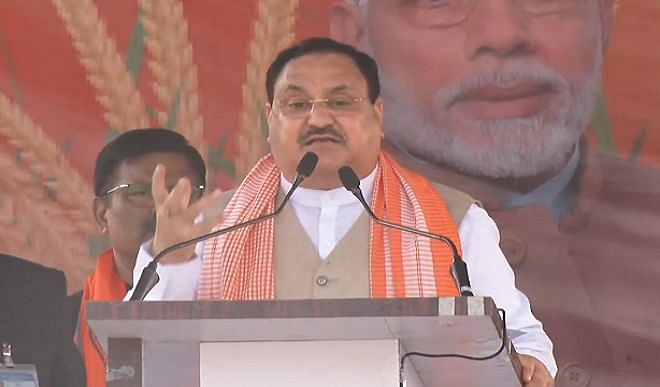 JP Nadda launches a handful rice campaign, says BJP will form government in Bengal