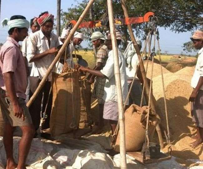 Raipur: Purchase of 71.48 lakh MT of paddy in the state till 13 January