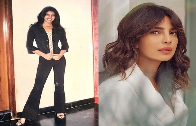 Priyanka Chopra's throwback picture, difficult to identify