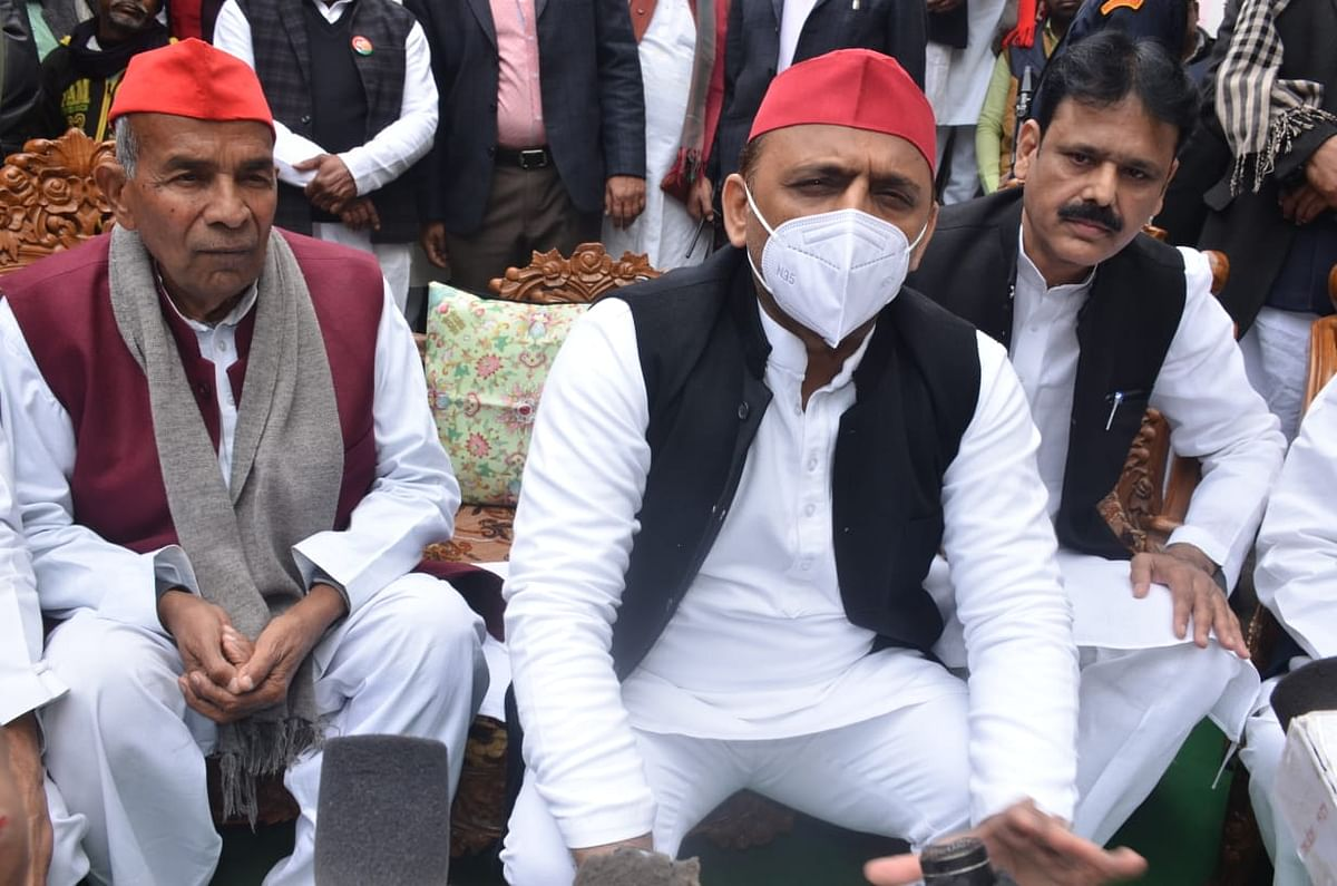 Only agitating farmers will win, government will withdraw agricultural law: Akhilesh Yadav