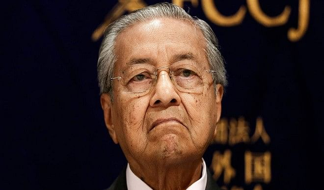 Former PM of Malaysia who made controversial statements on Kashmir included in the list of 20 dangerous extremists of the world