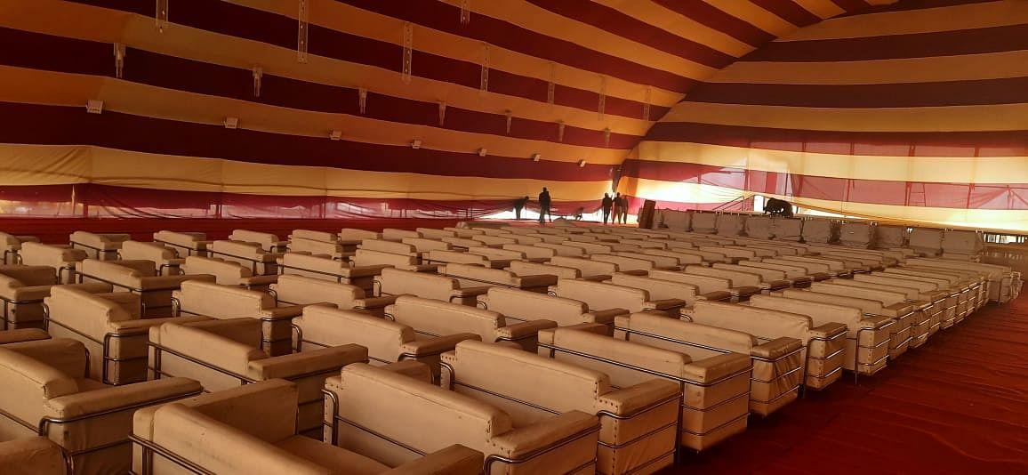 कुशीनगर : मोरारी बापू की कथा के लिए लांच हुआ मोबाइल एप, आस्था चैनल से सीधा प्रसारण