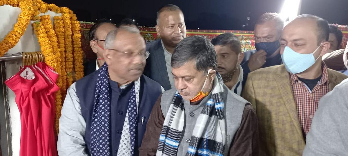 बिहार राज्य प्रदूषण नियंत्रण के क्षेत्रीय कार्यालय का उपमुख्यमंत्री ने किया शिलान्यास