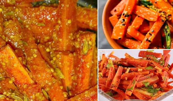 Quickly make carrot pickle, eating will increase the taste