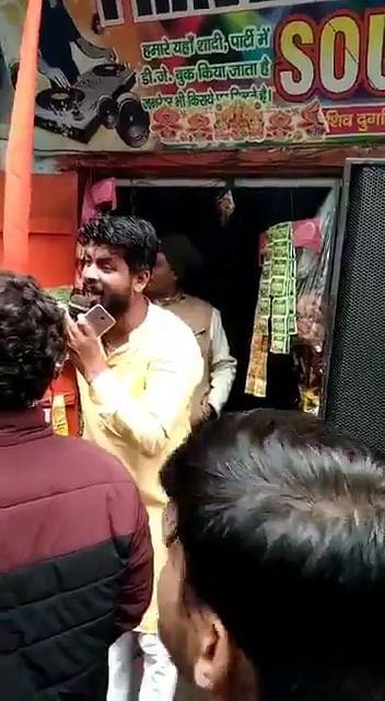 bjp-leader-arrested-for-making-indecent-remarks-on-officials