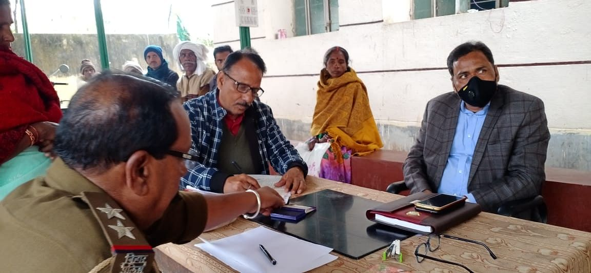 Janata Durbar in all police stations of the district, SDO dealt with 300 cases