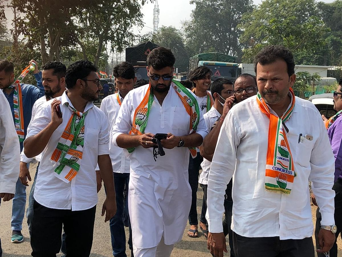 Congress district president Satyam Thakur establishes first rickshaw driver Malak Union in Dahanu, excited rickshaw drivers take out rally
