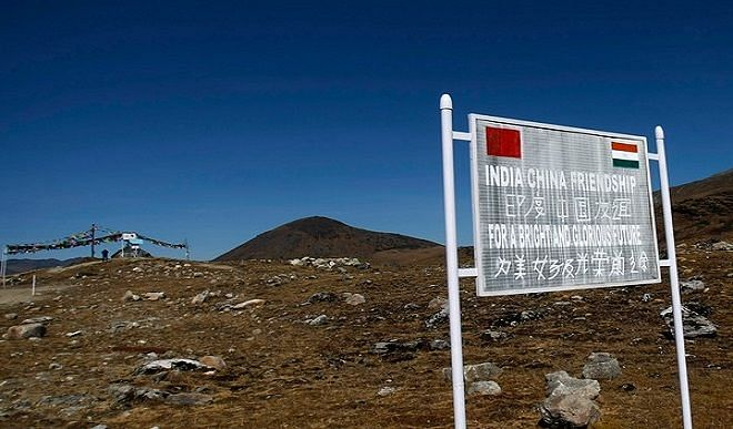 Chinese soldier caught near Pangong lake, getting interrogated