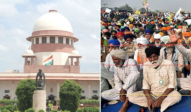 If the government resolves the farmer movement instead of the Supreme Court, it is better
