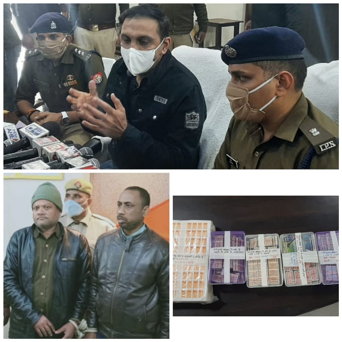 Kanpur: Inter-state fake stamp and two ticket sellers selling tickets arrested