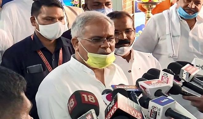 Bhupesh Baghel spoke to the central government regarding agricultural laws, if the Supreme Court orders, then we have to agree