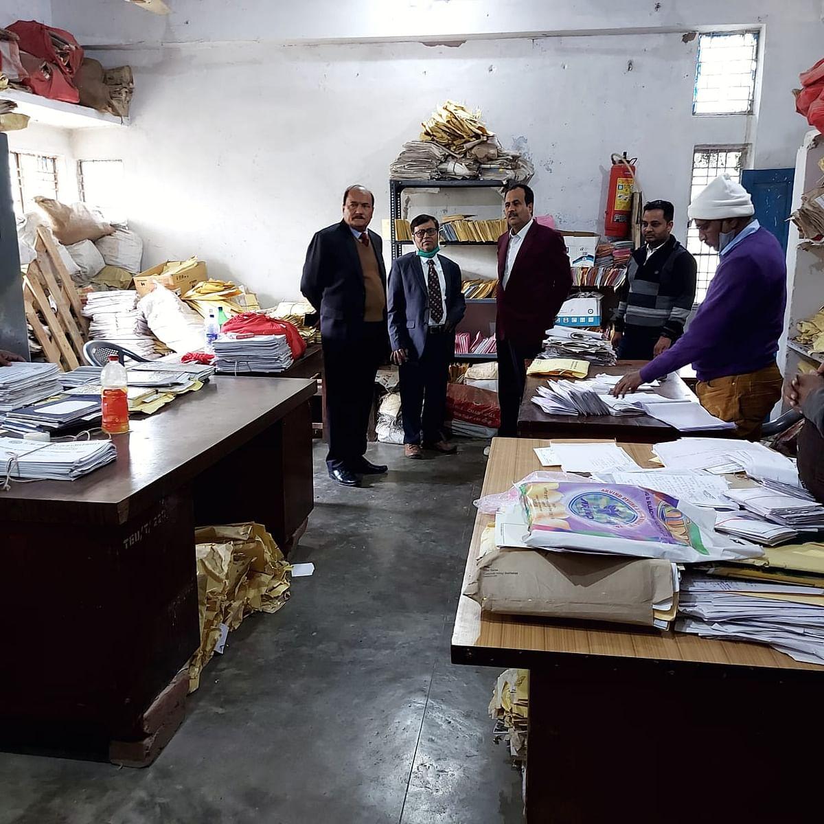 Pratikulapati did surprise inspection of examination department