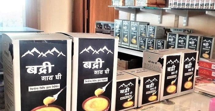 Badri cow ghee prepared with Bilona method is now available online
