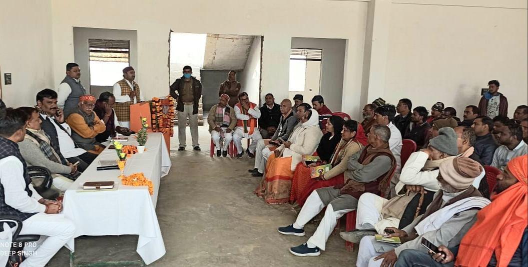 गांव की सरकार बनाने को पंचायत चुनाव जीतना जरूरी :  सुब्रत पाठक