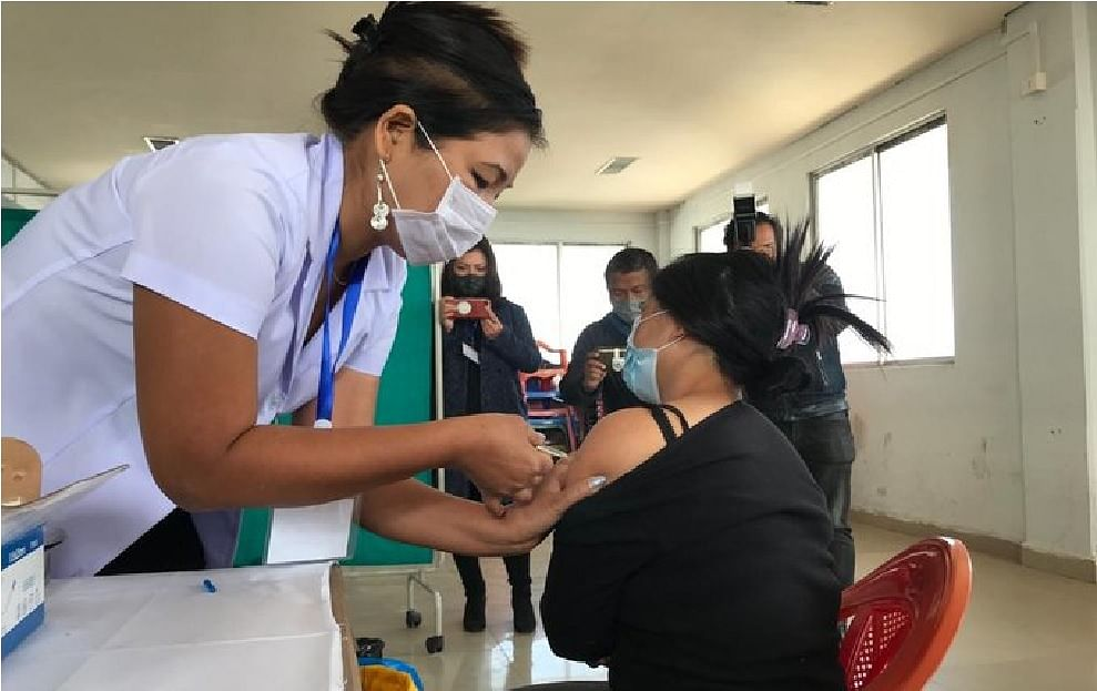 Corona vaccination inaugurated in northeastern states as well