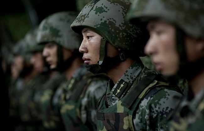 Chinese soldier infiltrated, Indian army caught