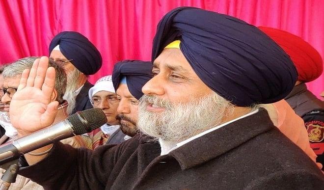 किसानों के प्रदर्शन का समर्थन करने वालों को किया जा रहा अपमानित: सुखबीर सिंह बादल