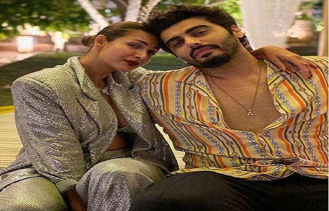 मलाइका अरोड़ा ने बॉयफ्रेंड अर्जुन कपूर संग किया नये साल का स्वागत,  वायरल हुई तस्वीर