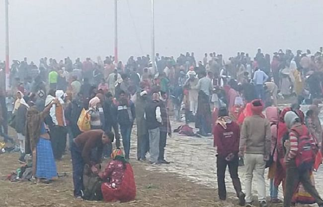 Magh Mela: The opening of the Magh Mela with the echo of every Ganga, millions of devotees are taking a dip