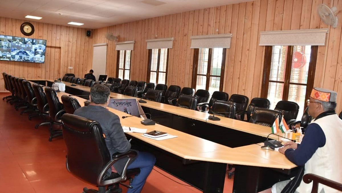 उत्तराखंडः सीएम ने कोविड-19 टीकाकरण के लिए दिए पुख्ता इंतजाम करने के निर्देश