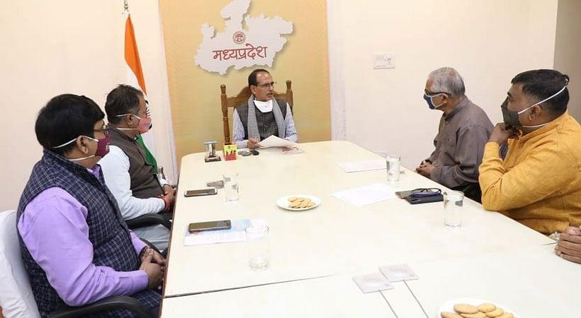 मुख्यमंत्री से मिला संस्कृत भारती मप्र का प्रतिनिधिमंडल, संस्कृत के विकास के लिए दिए सुझाव