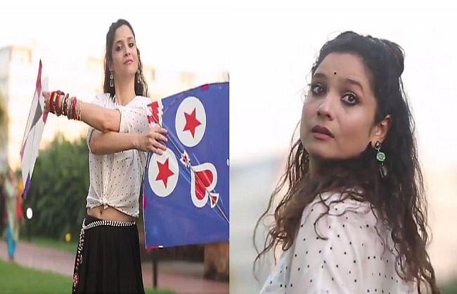 अंकिता लोखंडे को पतंग उड़ाते हुए आई सुशांत सिंह राजपूत की इस फिल्म के गाने की याद