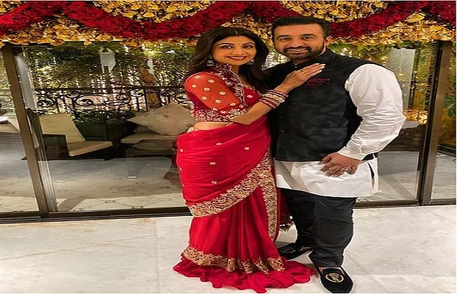 Raj Kundra showed Shilpa Shetty's Punjabi look, video went viral on social media