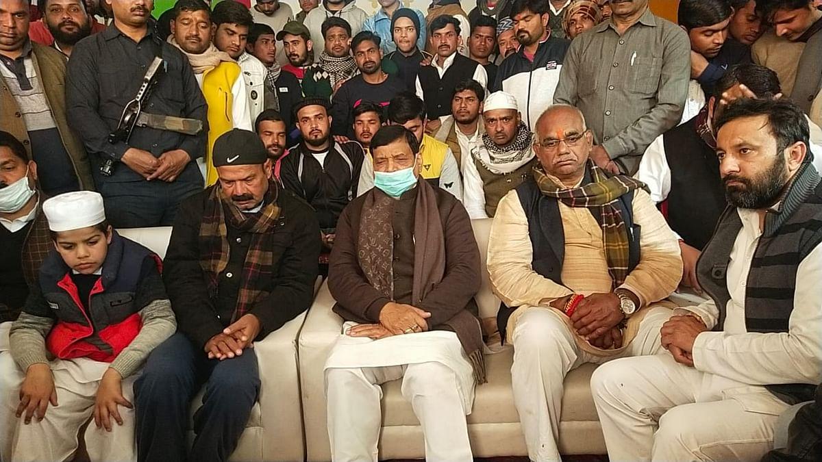 दिल्ली में हुआ बवाल किसानों ने नही घुसपैठियों ने किया - शिवपाल यादव