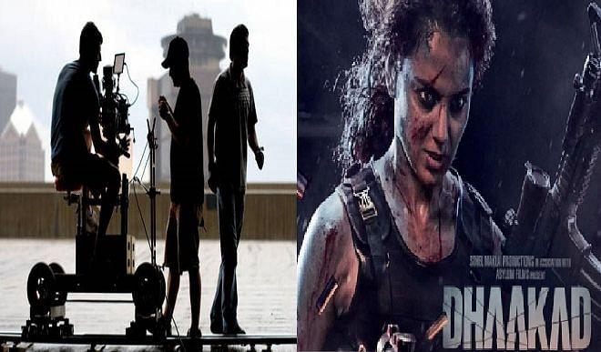 कंगना रानौत अभिनीत फिल्म धाकड़ की शूटिंग शनिवार से शुरू, मध्य प्रदेश  की मंत्री उषा ठाकुर करेंगी शुभारम्भ