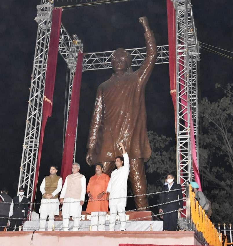 रायपुर : भगत सिंह वैचारिक रूप से बहुत मजबूत, साम्राज्यवादी ताकतों से माफी नहीं माँगी, हंसते- हंसते फांसी में झूल गए : भूपेश बघेल