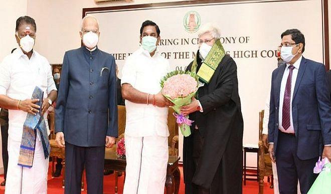 न्यायमूर्ति संजीब बनर्जी ने मद्रास उच्च न्यायालय के मुख्य न्यायाधीश पद की शपथ ली