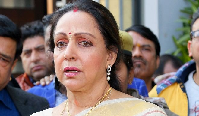 MP Hema Malini accused the opposition of misleading farmers