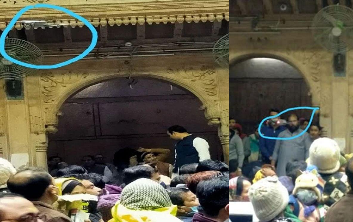 बांकेबिहारी मंदिर में बिना इजाजत उड़ा ड्रोन, मंदिर प्रबंधन ने पुलिस को दी तहरीर